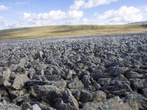 Stone fields, Stanley Island, Falkland Islands - Malvinas. The Stone fields, Stanley Island, Falkland Islands - Malvinas Stock Photo