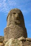 Stone figure of ancient civilization stock photos