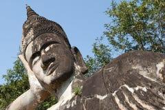 Stone figure buddhist Royalty Free Stock Photos
