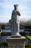 Stone figure, Stanley Park in Blackpool, Lancashire, uk Stock Photos