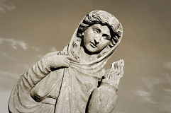 Stone figure, Stanley Park in Blackpool, Lancashire, uk Stock Photo