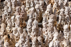 Stone figures Royalty Free Stock Photos