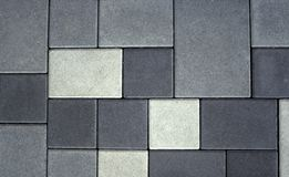 Stone Floor. With different gray parts Stock Photography