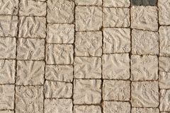 The stone floor Royalty Free Stock Photos