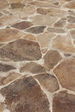 Stone floor Stock Image