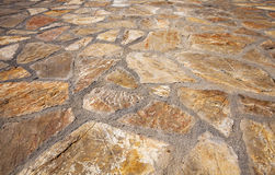 Stone floor Stock Photo