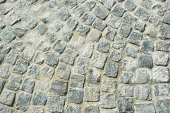 Stone floor. In El Tigre Buenos Aires, Argentina royalty free stock photos