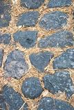 Stone floor background. Pattern Stone floor background in Thailand Royalty Free Stock Photography