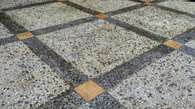 Stone floor. Beautiful design for ibterior and background Royalty Free Stock Photography