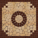 Stone floor pattern tiles Stock Photography