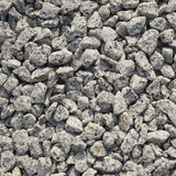 Stone on floor in rock garden. Royalty Free Stock Images