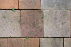 Stone floor tile seamless background and texture Stock Photo