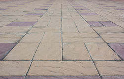 The stone floor tiles. Royalty Free Stock Photography