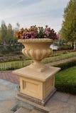Stone floor vase Stock Image