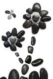 Stone Flower Scene Stock Image