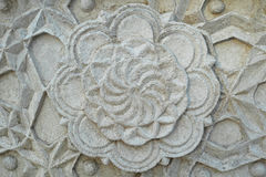 Stone flower Stock Images