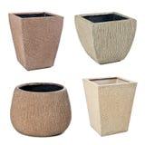 Stone flowerpots Stock Photo