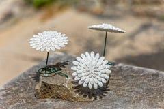 Stone flowers Royalty Free Stock Photo