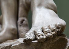 Stone Foot Royalty Free Stock Image