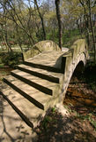 Stone Footbridge. In a public park Royalty Free Stock Photography