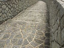 Stone Footpath Royalty Free Stock Photo