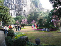 Stone Forest in Kunming Royalty Free Stock Photos