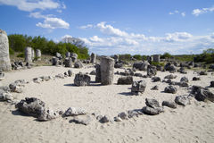 Stone Forest near Varna, Bulgaria Royalty Free Stock Image