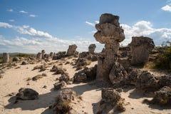 Stone Forest near Varna, Bulgaria, Pobiti kamani Stock Image