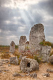 Stone Forest near Varna, Bulgaria. Pobity kamni Royalty Free Stock Photos