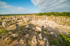 Stone Forest (Pobiti Kamani) in Bulgaria Stock Photos