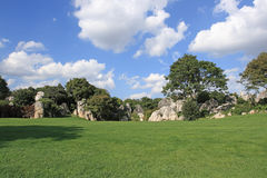 Stone Forest Scenic Area Royalty Free Stock Images