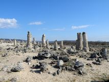 Stone forest Varna Stock Image