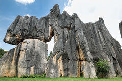 Stone Forest,Yunnan,China Stock Photo