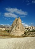 Stone Formation in Cappadocia Stock Photography