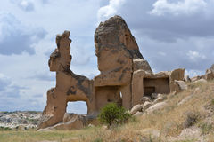 Stone formation in Cappadocia Royalty Free Stock Image