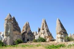 Stone formation of cappadocia turkey Stock Images
