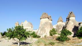 Stone formation of cappadocia turkey Stock Photo