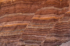 Stone Formation Showing Fault Lines Stock Photos