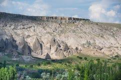 Stone formations in Cappadocia, Turkey Royalty Free Stock Photos