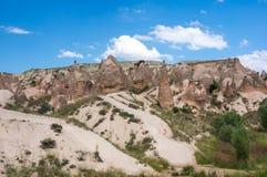 Stone formations in Cappadocia, Turkey Stock Photo