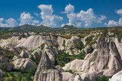 Stone formations in Cappadocia, Turkey Stock Images
