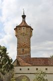 Stone fortification tower Royalty Free Stock Photography