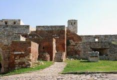 Stone fortress  in Belgrade Stock Photo