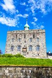 Stone fortress with dome in Bergen, Norway Stock Photography