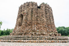 Stone fortress of Qutub Complex Stock Images