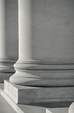 Stone Foundation Pillars Royalty Free Stock Photography