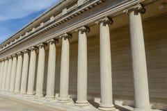 Stone Foundation Pillars Royalty Free Stock Photos