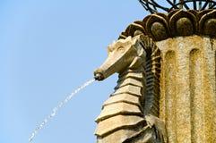Stone fountain Royalty Free Stock Photo
