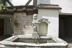 Stone-fountain Stock Photography