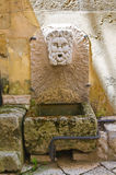 Stone fountain. Altamura. Puglia. Italy. Stock Image